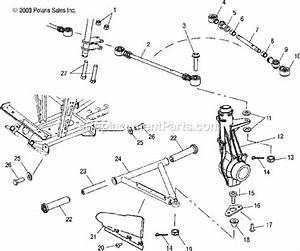 Polaris A03ch50aa Parts List And Diagram