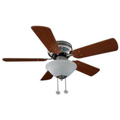5 blade hton bay ceiling fan hton bay lugano 36 in satin nickel hugger ceiling fan