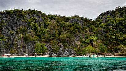 Philippines Palawan Desktop Beach Wallpapers Widescreen Background