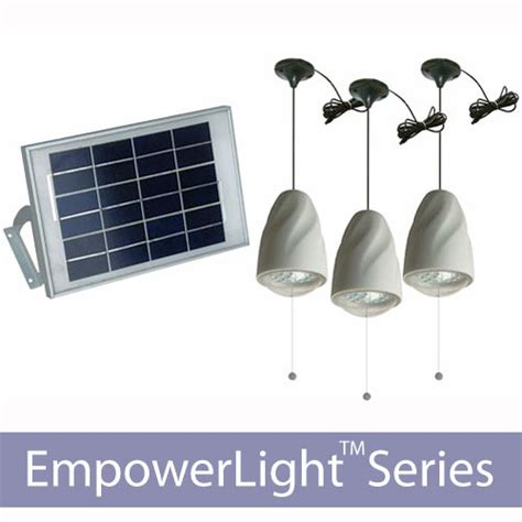 indoor shelter solar lighting kits