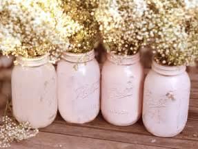 shabby chic mariage shabby chic weddings jars distressed paint glass jar