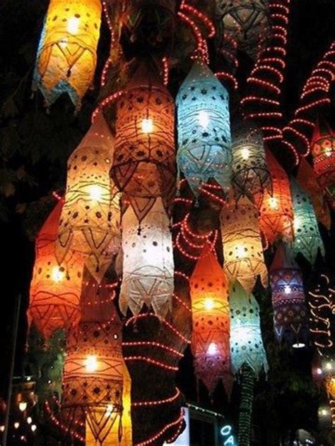 paper lanterns in fall colors pictures photos and images