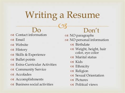Vancouver Resume Workshop by How To Do Your Resume Slate Resume Workshop Write A Resume Summary That Ll Stop