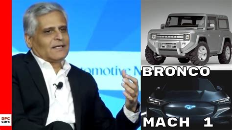 ford bronco mustang electric mach  suv update