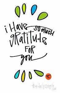 I Have So Much Gratitude For You | The Daily Quipple