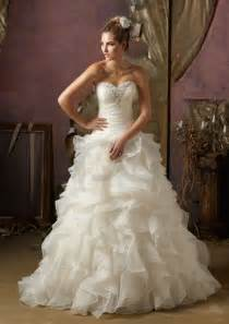 organza wedding dresses organza ruffle wedding dress