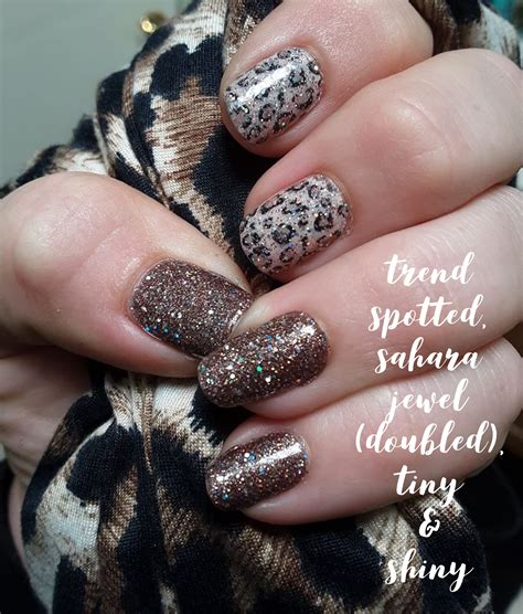 Trend Spotted Mixed Mani | Color street nails, Color ...