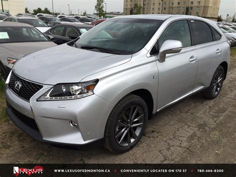 sporty lexus 4 door new 2015 lexus rx 350 f sport package 4 door sport utility