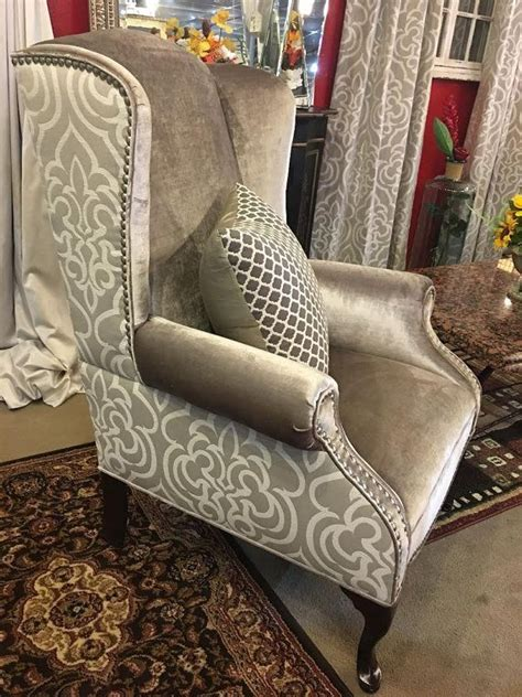 Upholstery Fabric For Sofas And Chairs by Image Result For Wingback Chair Pattern Projects To Try
