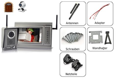 funk sprechanlage mit kamera gegensprechanlage funk t 252 rsprechanlage sprechanlage mit kamera eur 197 00
