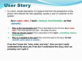 User Story Template Word | User Story Template Word Erieairfair