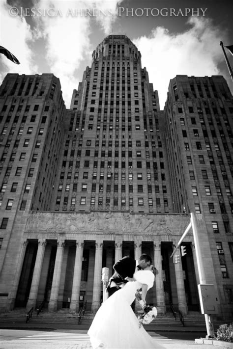 niagara square city hall wedding engagement photography