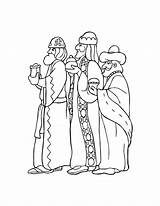 Coloring Pages Three Bible Wise Christmas Kings Printable Stencil Worship Sheets Discover Magi Quilt Paper sketch template