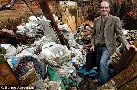 What a load of rubbish! Neighbours' disgust as hoarder