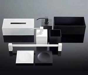 Bad Accessoires Set Schwarz : schwarz weiss handtuchhalter von decor walther architonic ~ Bigdaddyawards.com Haus und Dekorationen