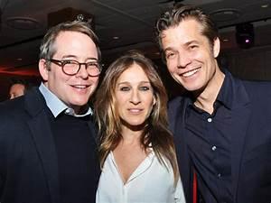 Matthew Broderick & Sarah Jessica Parker Celebrate Timothy ...