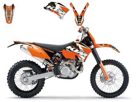 kit deco ktm exc 28 images kit decoration factory edition ktm exc idgrafix 2005 2006 2007