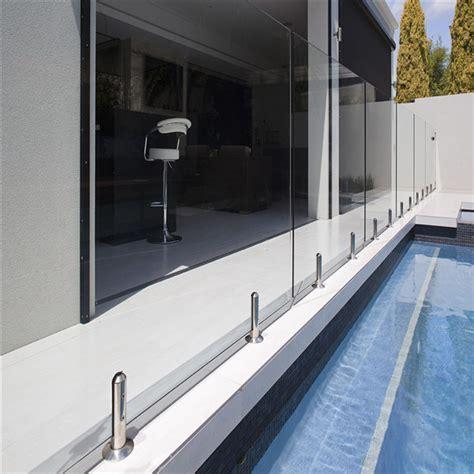 Balcony Terrace Railing Ddesign Glass Stainless Steel Spigot