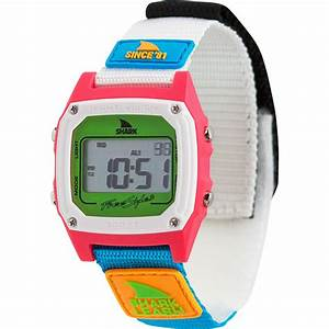 Freestyle Watches Shark Classic Leash Since 81 U0026 39  Neon 2 0