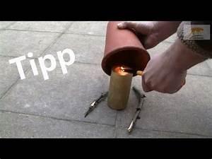 Heizen Mit Teelichtern : outdoor heizung f r j ger angler camper youtube ~ Jslefanu.com Haus und Dekorationen