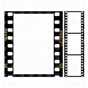 Movie Reel Clipart Border - The Cliparts