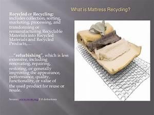 California Passes Mattress Recycling Bill
