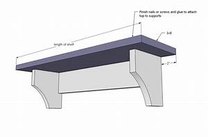 Woodworking Plans Wall Shelf Plans PDF Plans
