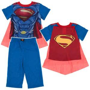 Boys Superman Pajamas with Cape