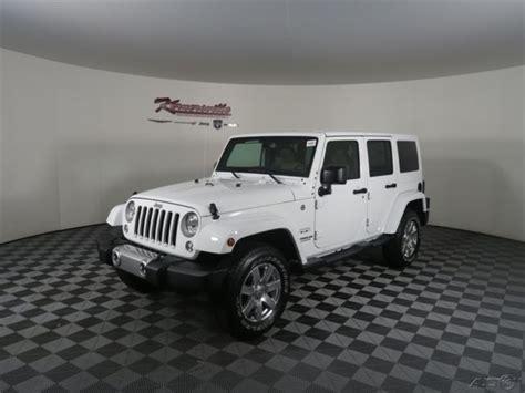 white jeep sahara 2017 1c4bjweg8hl516518 easy financing new white 2017 jeep