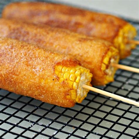 fried corn on the cob batter fried corn on the cob simply sated