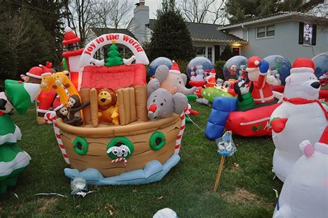 Inflatable Christmas Decorations  Home Design Tips And Guides