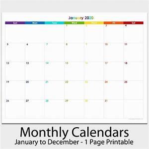 Catch 8 5 X 11 Calendar 2020