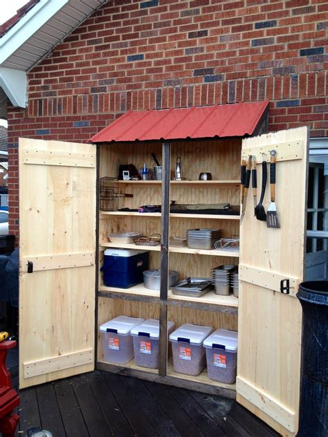 Kitchen Garden Equipments by Outdoor Cabinet For Grilling Supplies Pinteres
