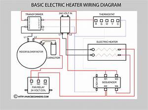 Wiring Electric Heater Diagram