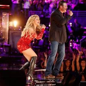 Last night on The Voice, Shakira performed her single ...