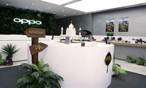 oppo unveils pubg themed store  bangalore techvorm
