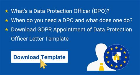 gdpr appointment  data protection officer letter termsfeed