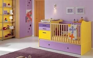 Chambre Bebe Jaune : 35 id es originales pour la d coration chambre b b ~ Nature-et-papiers.com Idées de Décoration