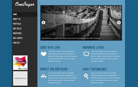 free html css templates 40 free css templates ginva