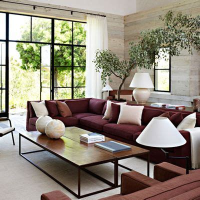 Living Room Ideas With Maroon Carpet by Decorating A Neutral Living Room With A Maroon
