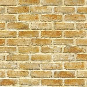 Light Brown Brick Self Adhesive Wallpapers