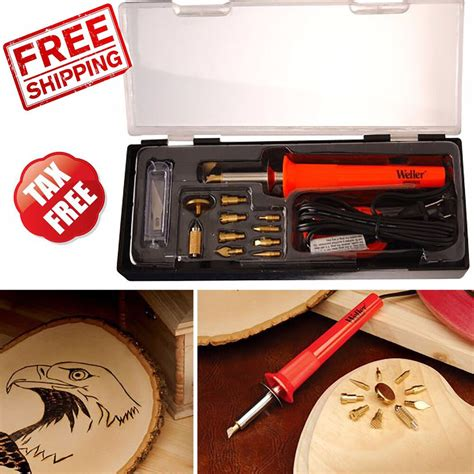 wood burning tool soldering woodworking art woodburner