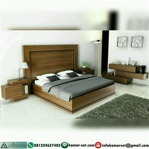 tempat tidur minimalis jati ai  arts indo furniture