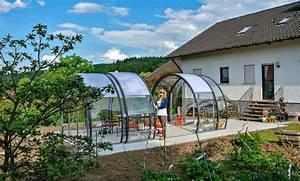 Garten überdachung Freistehend : garten berdachungen pavillons und berdachungen aus glas ~ Whattoseeinmadrid.com Haus und Dekorationen