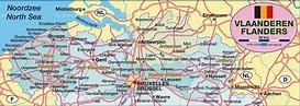 Map of Flanders / Vaanderen (Belgium) - Map in the Atlas ...