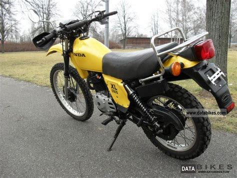 1980 Honda Xl 500 S Cult Enduro