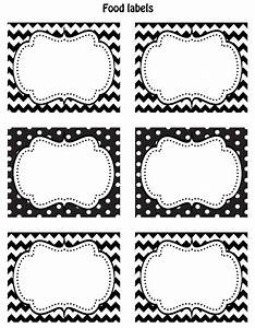 free black white printable labels celebrations at home With black labels white lettering