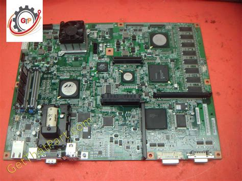 If you have questions please send your questions to gd@tdscopiers.com. Konica Minolta Bizhub A0P0H02003 C452 C552 PWB-MFP Main Board Assembly