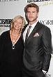 Liam Hemsworth and mother Leonie Hemsworth - Celebrities ...