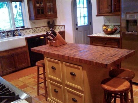 kitchen island butcher block tops mesquite custom wood countertops butcher block countertops kitchen island counter tops